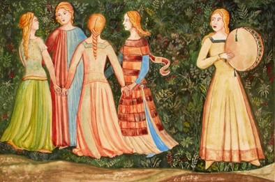 Joute entre Richard Coeur de Lion et Saladin Florence 1365.jpg