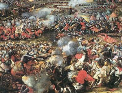 Victoire contre les turcs le 12 septembre 1683 à Kahlenberg .jpg