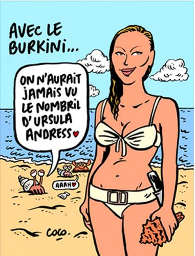C_dans-l'air,  Céline_Pina, bikini, burkini, ègalité_femmes-hommes, islam, laïcité