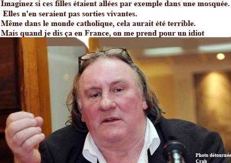 Gérard Depardieu,pussy riot,russie,cinéma,sciences,athéisme,kto,islam