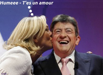 Marine Le Pen,Mélenchon
