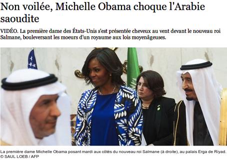 Athéophobie,Arabie_Saoudite,Barak_Obama,Michèle_Obama,Islamophobie,Laïcité,voiles_islamiques,Féminisme,droits-de_l'homme,Caire,Égypte,islam