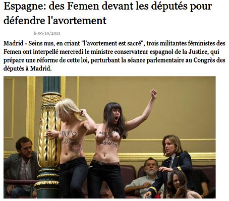 Elisabeth_Badinter,Femen,Droits_de_la_femme,laïcité,athéisme, féminisme,Espagne,France,classe_politique,FN,FG,PS,UMP,Centres