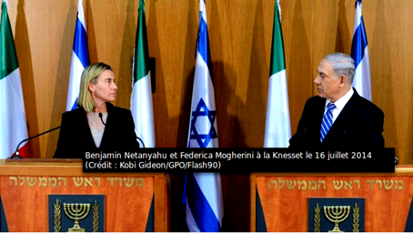 Benjamin Netanyahu et Federica Mogherini .png