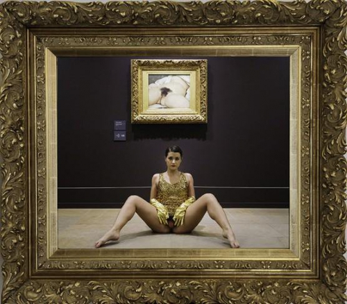 Arts, censure, Deborah_de_Robertis, Musée, Nudité, Pudibonderie, sexe_féminin