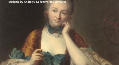 Émilie du Châtelet, CNRS,sciences,les lumières,féministes