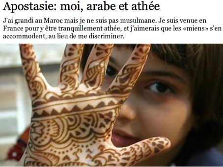 Laïcité,censure,athéisme,sciences,féministes,sexisme,homophobie,apostasie,religions,maghreb,moyen-orient,france