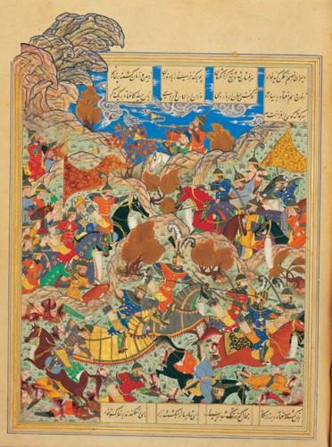 25 décembre : bataille entre Tamerlan et le sultan d'Égypte.jpg