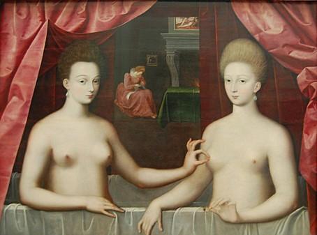 Gabrielle d'Estrées et sa sœur la duchesse de Villars.jpg