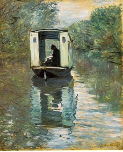Monet - Le bateau-atelier.jpg