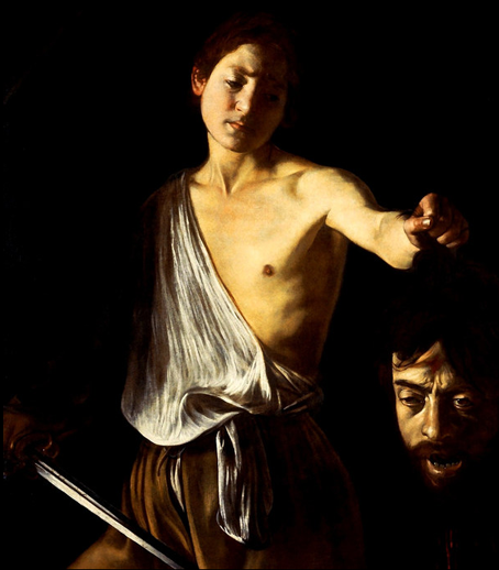 Le Caravage - David et Goliath .png